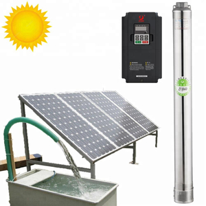 4000 Watt Solar Water Pump, Agriculture Brushless Submersible Deep Well Solar Pump