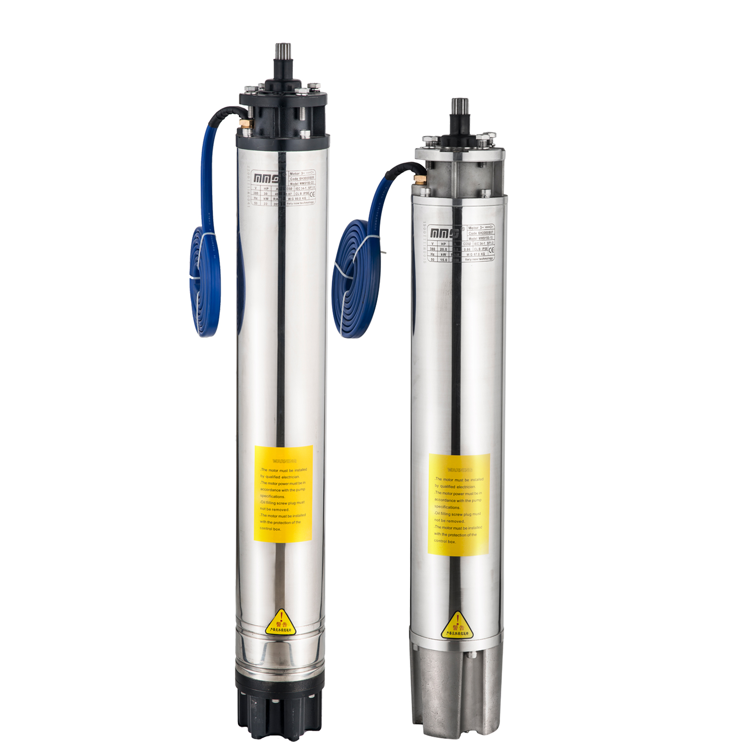 Pump Water Agriculture, Deep Well Centrifugal Irrigation Submersible Pump, 3 Phase Motor