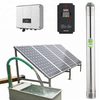7500 Watt Anern High Head Submersible Meter Deep Well Solar Water Pump