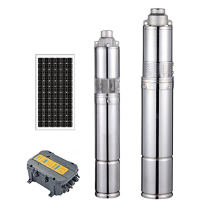 1inch 36v Dc Water Pump Brushless Solar Powered Water Pump Dc Solar Submersible Pump for Agricultur
