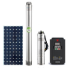 PBK002B Factory 1 Hp To 25 Hp List Submersible Powered System 1.5 Hp 2 Inch 3Hp Price Solar Water Pump For Agriculture