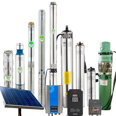 Ac Dc Solar Powered Sump Pump Bore Well Submersible Water Pump