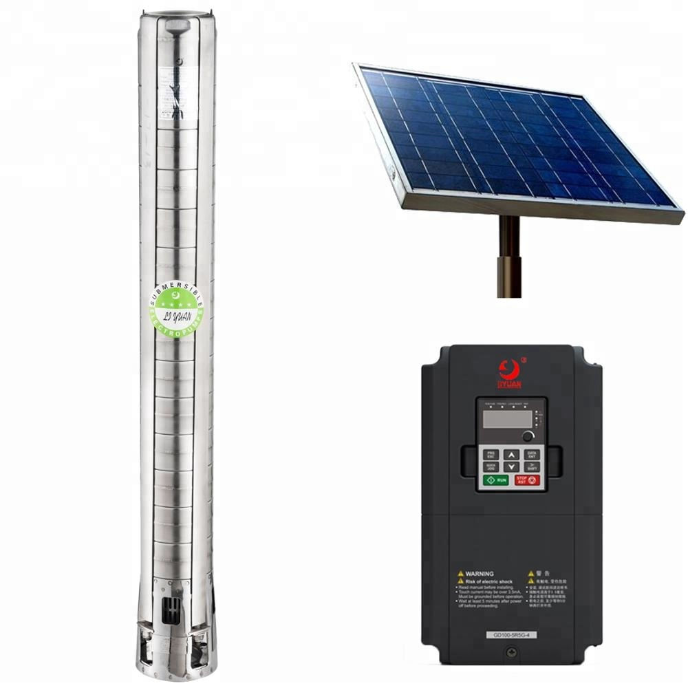 6''' Brushless Solar Water Pump, Solar Pool Pump