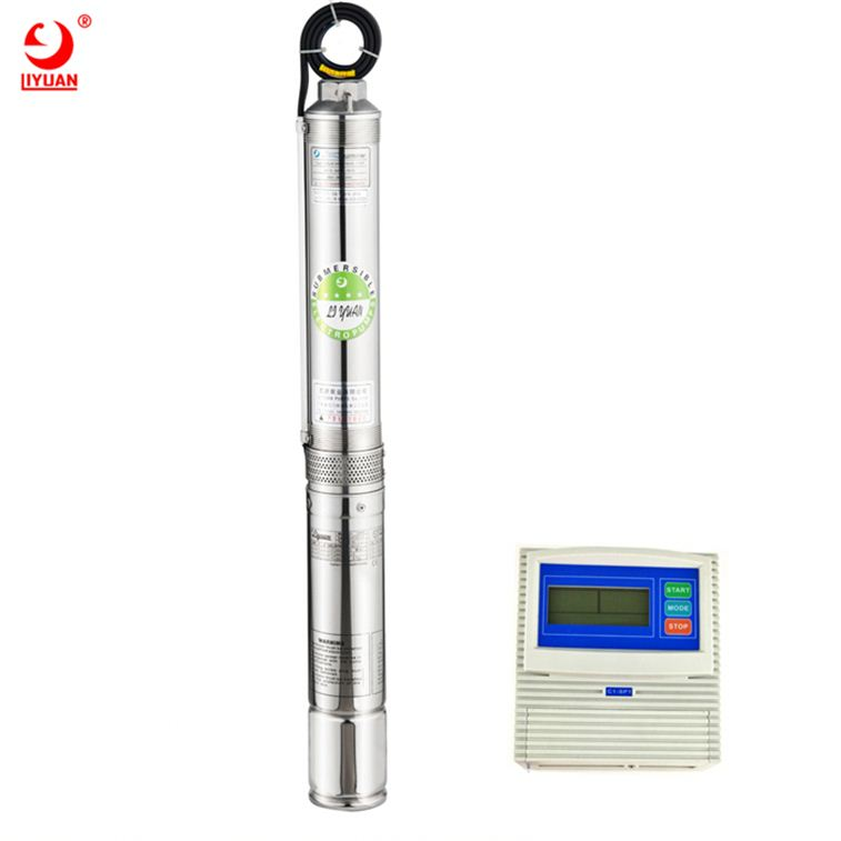 Hight Quality High Pressure Centrifugal Submersible Qj Pump